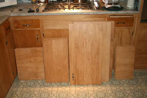 Before-Cabinet Refacing